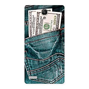 Delighted Pocket Full Jeans Multicolor Back Case Cover for Redmi Note Prime