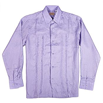 Mens beach wear lavender long sleeve shirt for wedding