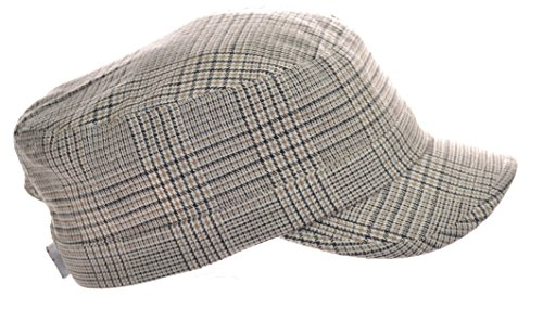 peter-grimm-cadet-fashion-ladies-cap-khaki-plaid