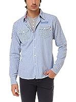 BIAGGIO Camisa Hombre Chourkif (Azul)