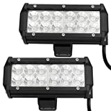 XCSOURCE® 2X36W Square LED CREE Work Light Offroad Truck Jeep Car Boat ATV SUV 4WD LD196B