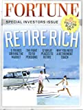img - for Fortune June 13 2011 Retire Rich, Special Investor's Issue, 25 Stocks You Can Build On, 5 Trends Driving the Market book / textbook / text book