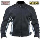 Xelement Mens CF-505 Mesh Sports Motorcycle Jacket