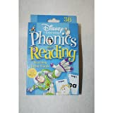 Disney Learning Phonics and Reading Learning Game Cards