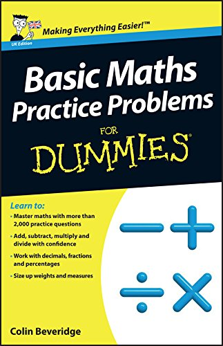 Basic Maths Practice Problems For Dummies (Math Basics Made Easy compare prices)