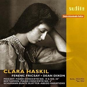 Mozart, Schumann, Beethoven : Clara Haskil joue Mozart, Beethoven & Schumann