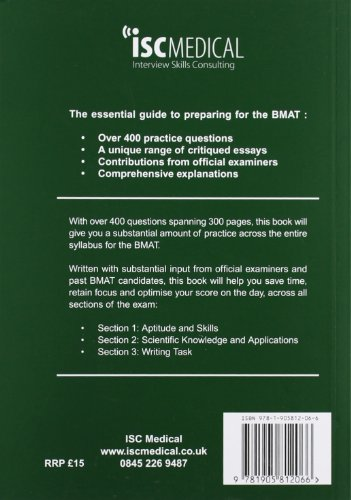 "bmat essay questions 2011 Start by marking ""bmat past paper worked solutions: 2003 - 2016, fully worked answers to 900+ questions, detailed essay plans, biomedical admissions test book: full 2003 - 2016, fully worked answers to 600+ questions, detailed essay plans, biomedical admissions test booky"" as want to read."