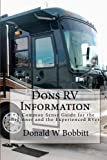 Dons RV Information: A Common Sense Guide for the Beginner and the Experienced RVer
