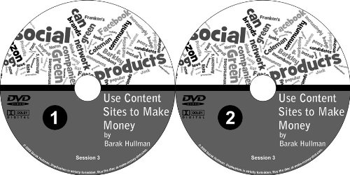 How to Make Money with Content Based Websites Explained Simply and to the Point: 2 Part DVD Set