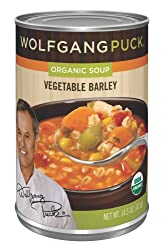 Wolfgang Puck Organic Vegetable Barley Soup, 14.5-Ounce Cans (Pack of 12)