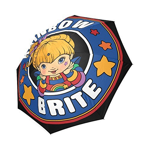 new-personazlied-rainbow-brite-polyester-pongee-waterproof-fabric-foldable-umbrella-by-freearts