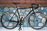 Alloy Black 55cm Track Fixed Gear Single Speed Road Bike