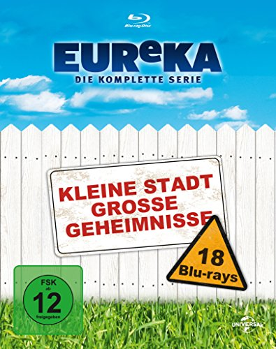 EUReKA: Kleine Stadt grosse Geheimnisse - Die komplette Serie [18 Blu-rays] [Blu-ray]