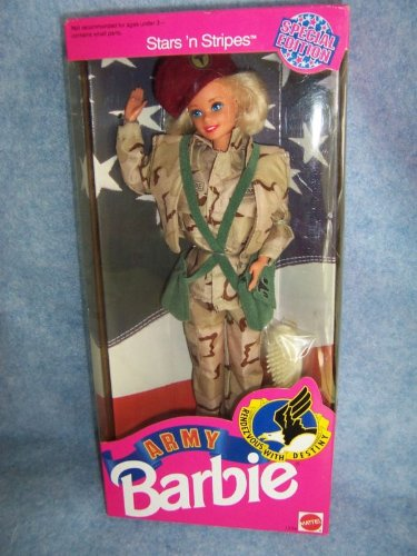 1992 Army Barbie