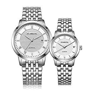 Starking Men's & Women's AM/L0187 Automatic Wrist Watch for Couples