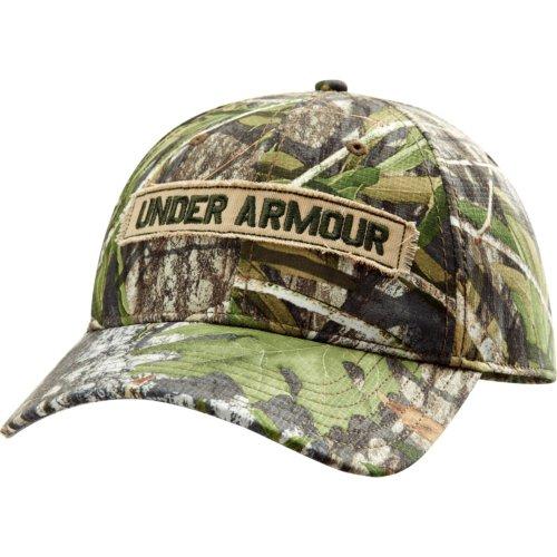 Under Armour HeatGear Camo Cap Synthetic Blend Mossy Oak Obs
