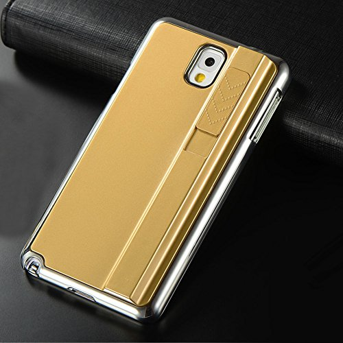 Vakind® Creative Electronic Rechargeable Cigarette Lighter Case Cover For Samsung Galaxy Note 4 (Gold)