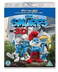 The Smurfs (Blu-ray 3D + Blu-ray + DVD) [2011][Region Free]