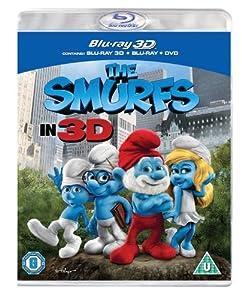 The Smurfs (Blu-ray 3D + Blu-ray + DVD) [2011] [Region Free]