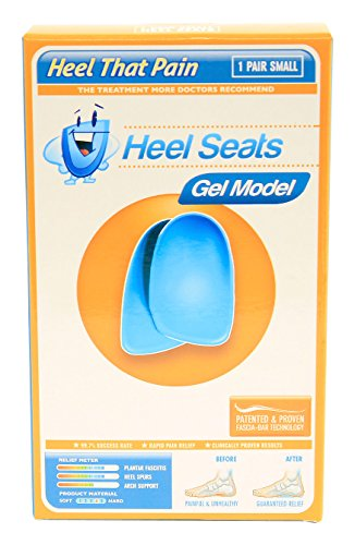 Gel Heel Seat Cup Inserts - Heel That Pain - (Women's 5-6) Small (Htp Heel Cups compare prices)