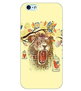 PrintDhaba ART D-6195 Back Case Cover for APPLE IPHONE 6 PLUS (Multi-Coloured)