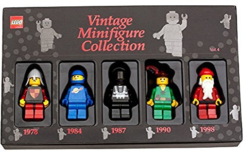 Lego-Vintage-Minifigure-Collection-Volume-4-1978-1984-1987-1990-1998