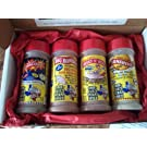 Obie-Cue's Texas Gift Box, 4 bottles - BBQ Legend Assortment