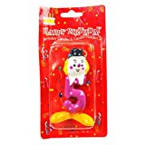 The Candle Shop Multicolor Number Five Birthday Candle