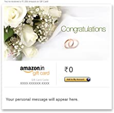 Wedding Wishes - E-mail Amazon.in Gift Card