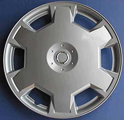"15"" Set of 4 Nissan Versa Cube Wheel Cover 15 Inch Silver Lacquer Hubcaps"
