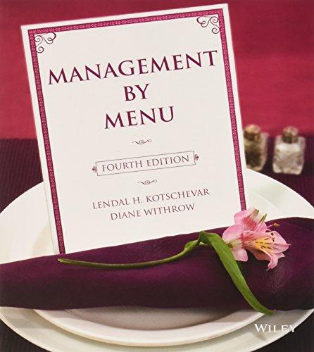 Management by Menu, 4th Edition + Management by Menu SG SET