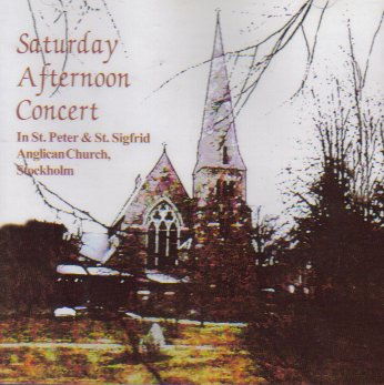 Saturday Afternoon Concert in St. Peter & St. Sigfrid Anglican Church, Stockholm by Bromme