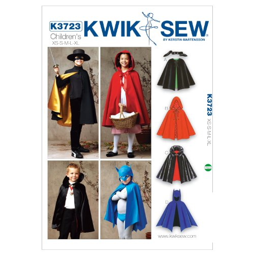 Kwik Sew Cape Sewing Pattern