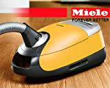Miele Leo S5381 Canister Vacuum Cleaner With SEB 236 Powerhead and SBB 300-3 Parquet Floorbrush