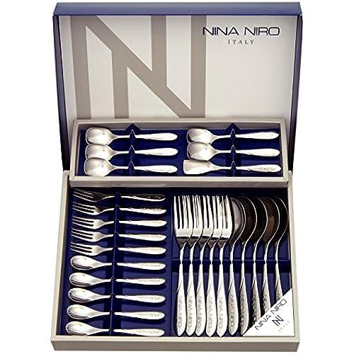 NINA NIRO 런치26개 커트러리 기프트 세트(스테인레스) 151-726