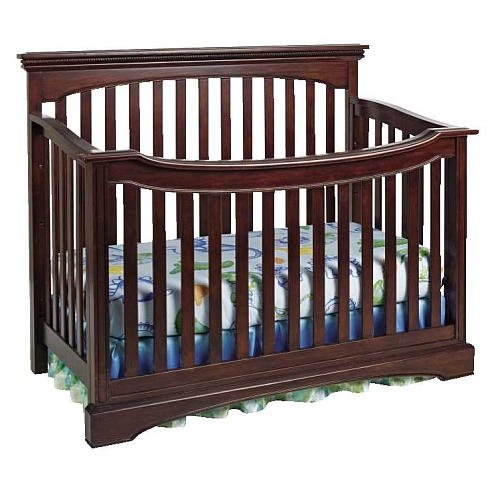 Truly Scrumptious Flat Lifetime Convertible Crib Sienna