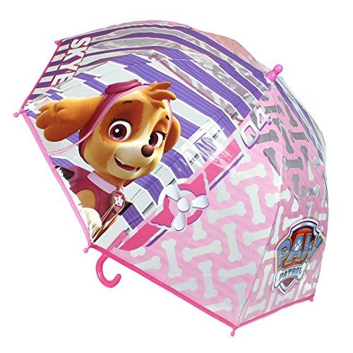 Paraguas manual transparente 45cm de Skype Paw Patrol La Patrulla Canina