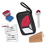 RDS Industries, Nintendo 3DS Game Traveler Essentials Pack - Black Pokeball