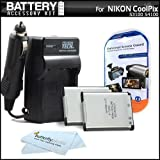 2 Pack Battery And Charger Kit For