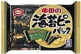 亀田製菓 海苔ピーパック 98g×12袋