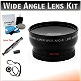 52mm Digital Pro Wide Angle/Macro Lens Bundle For The Canon EOS Rebel SL1 With 40mm 2.8 STM Pancake Lens. Includes Wide-Angle/Macro High Definition Lens Lens Pen Cleaner Cap Keeper UP Deluxe Cleaning Kit