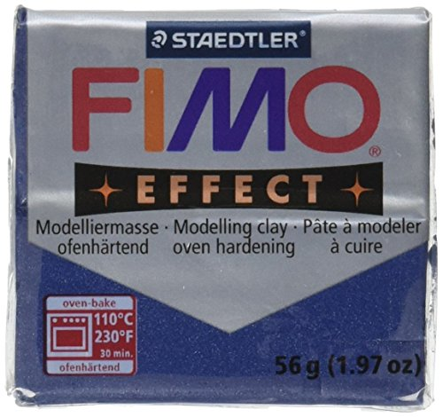 Fimo Soft Polymer Clay 2 Ounces-8020-38 Metallic Sapphire Blue (Polymer Clay Fimo Classic compare prices)