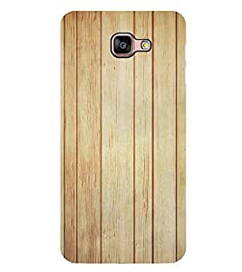Wooden Pattern 2D Hard Polycarbonate Designer Back Case Cover for Samsung Galaxy A8 :: Samsung Galaxy A9 (2016) Duos with dual-SIM card slot