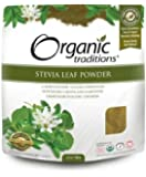 Stevia Powder 100g -Green Leaf -Raw Food Diet- Brand: Organic Traditions