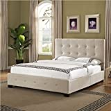 Standard Furniture Madison Square Upholstered Bed In Linen - Queen