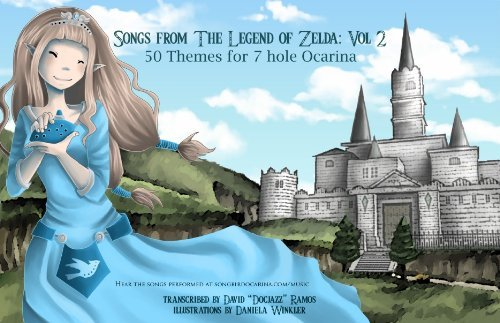 Songs From the Legend of Zelda for 7 Hole Ocarina: Volume II