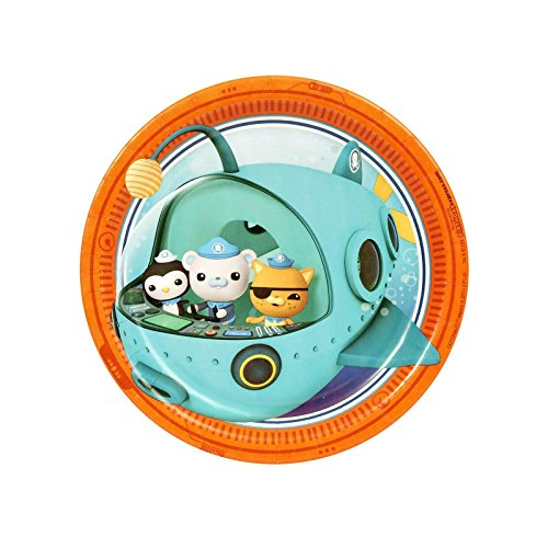 The Octonauts Dessert Plates (8) by BirthdayExpress