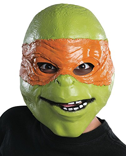 2014 Teenage Mutant Ninja Turtles Movie Michelangelo Adult Mask