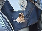 HaocooDirect ペット ドライブシート 後部座席用 おでかけ ペットシート 耐久性 抜群 ペットベッド 小型犬 中型犬 大型犬 防水シートカバー 後席用防汚シート 防水シート 後部座席 ペットドライブシート