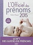 L'Officiel des prénoms 2015